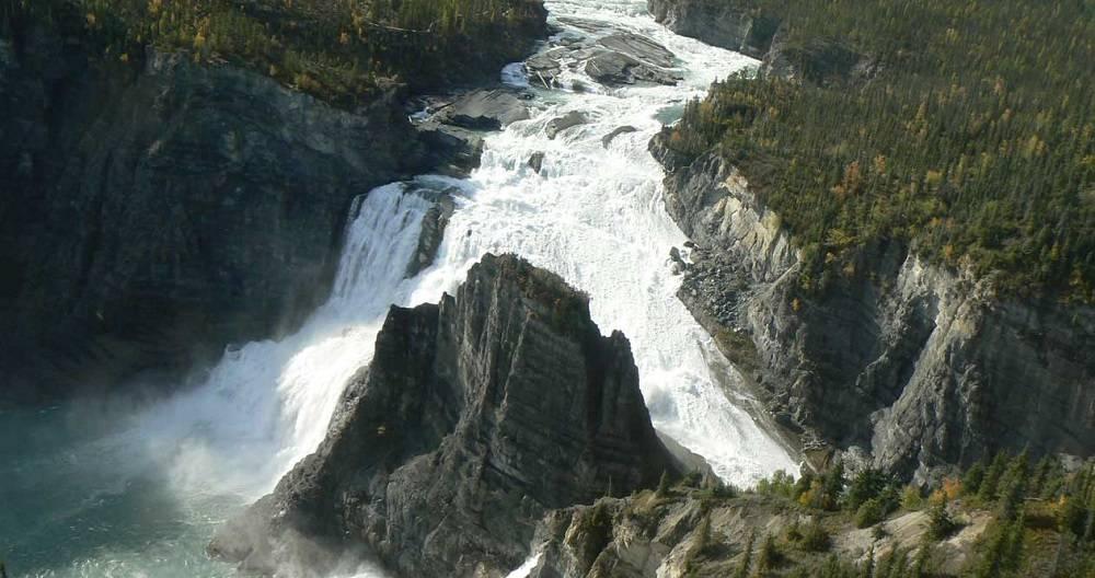 Virginia Falls, just impressive!