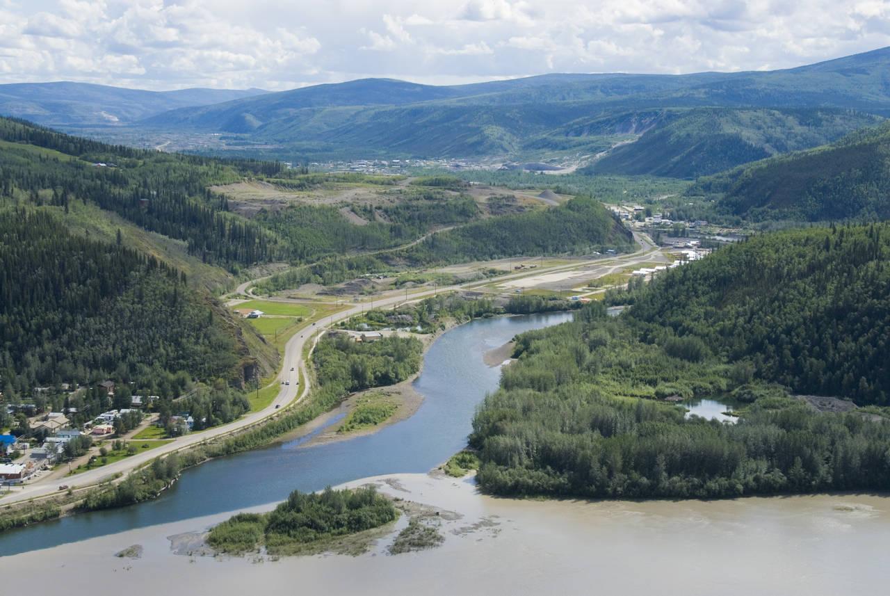 Dawson City View!