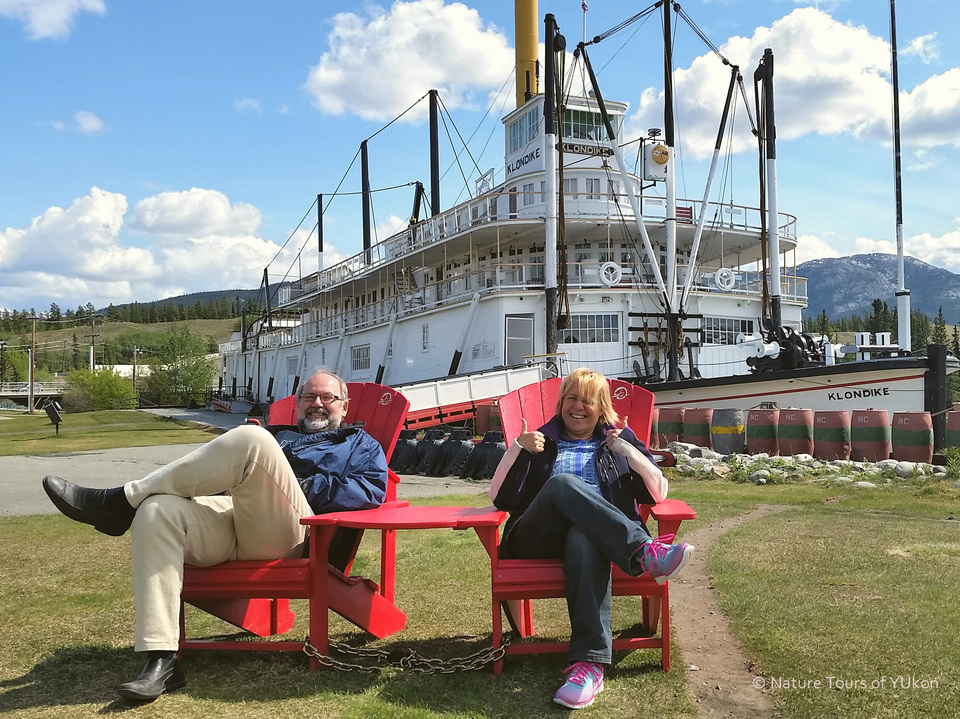 Enjoy a guided tour of the historic S.S. Klondike!