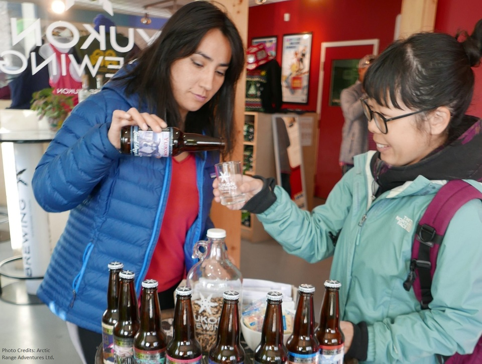 Yukon Brewing tour and tasting