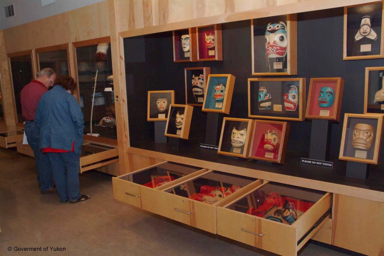 Visit the Teslin Tlingit Heritage Centre