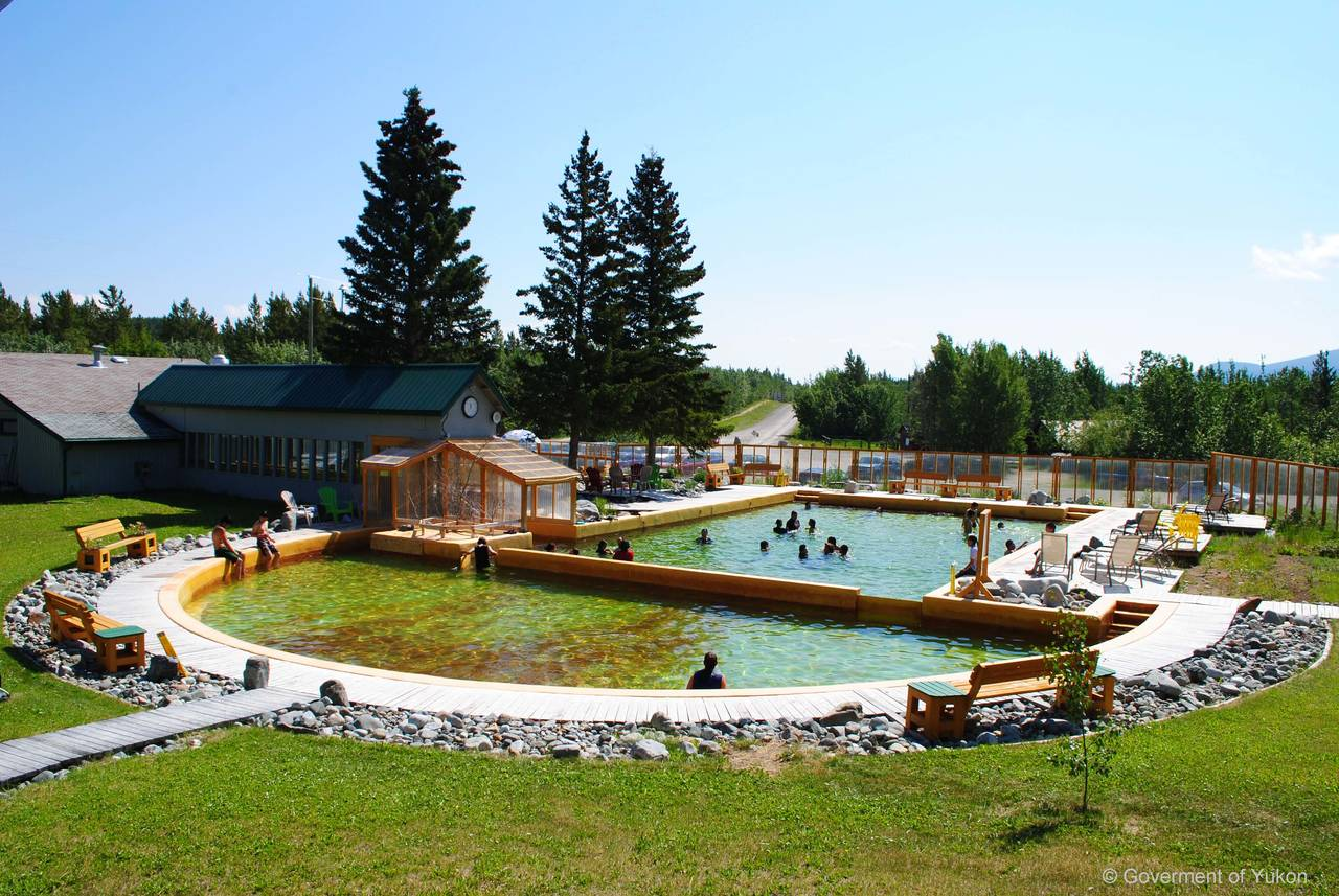 Relax on the local Hotsprings