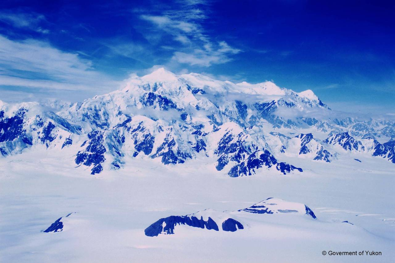 An aerial trip into Mount Logan!