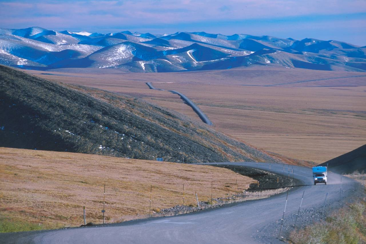 The famous Dempster Highway