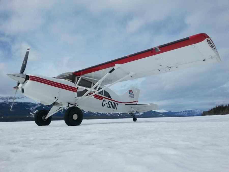 Winter flightseeing!